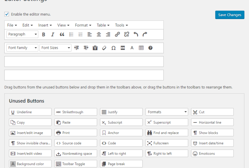 tiny mce wordpress plugin