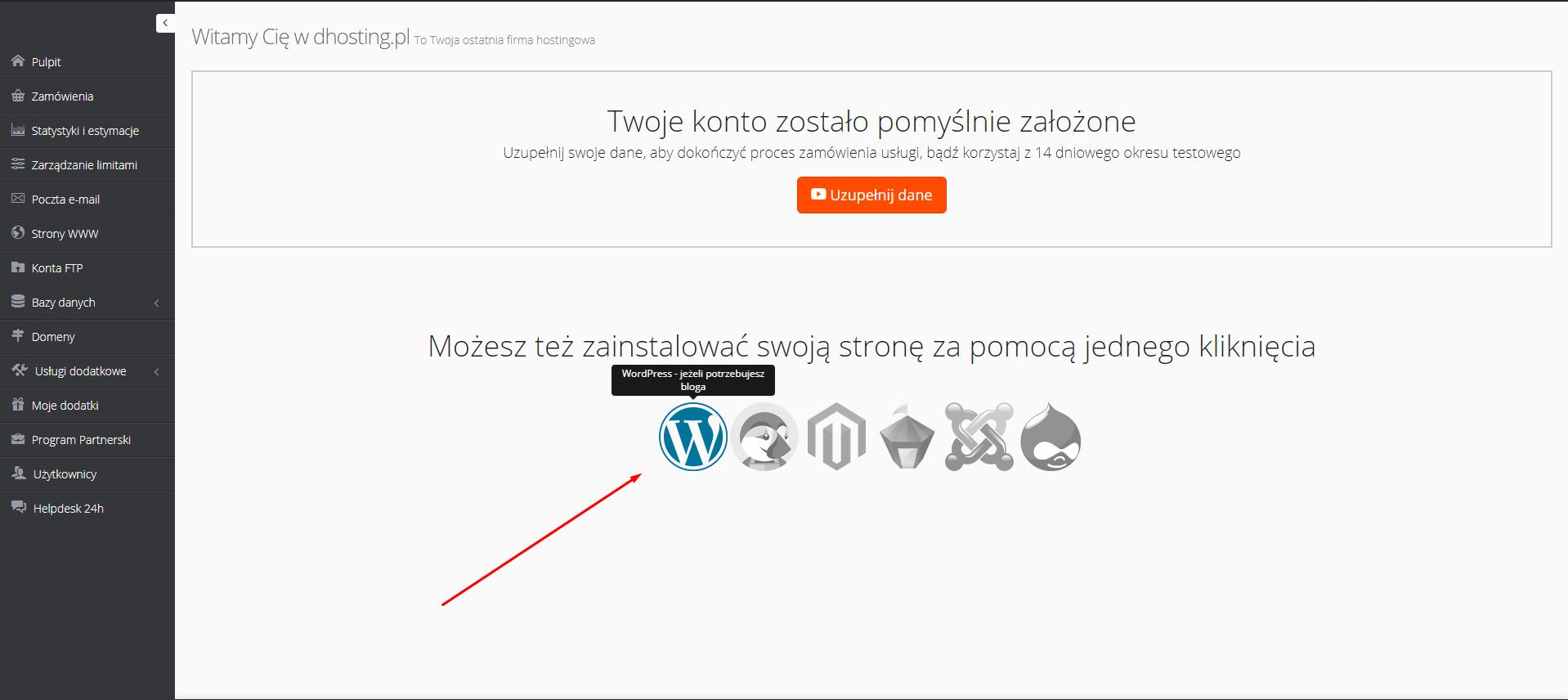 Jak zainstalować bloga na wordpressie