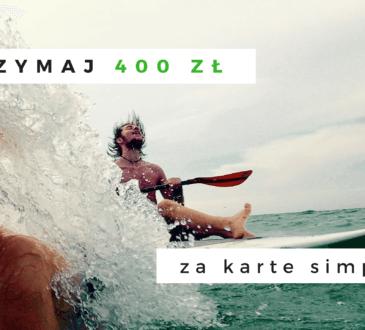 400 zł za karte simplicity